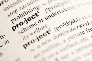 Project Definition in Dictionary